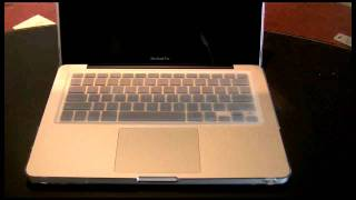 "13"" MacBook and Marware Keyboard Protector"