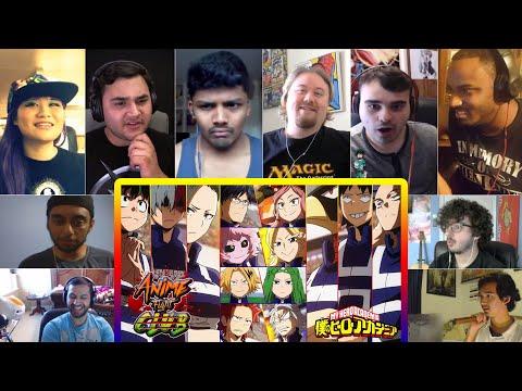 U.A. Sports Festival Tournament (Part 1/3)  Boku No Hero Reactions Mashup   Anime Fight Club