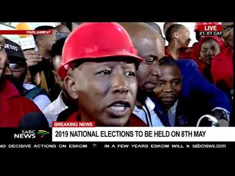 SONA 2019   Ramaphosa plagiarised the EFF manifesto - Malema