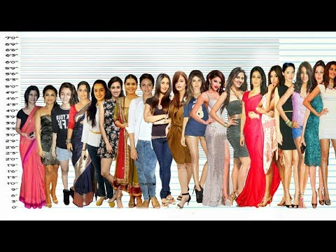 Bollywood Actresses Height Comparison | Shortest vs Tallest thumbnail