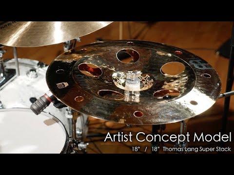 Meinl Cymbals AC-SUPER Thomas Lang Artist Concept Model Super Stack