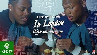 MADDEN NFL 20   International Series ft. NFL rookies Josh Jacobs and David Montgomery