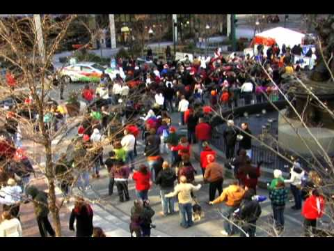 Fountain Square Christmas Flash Mob