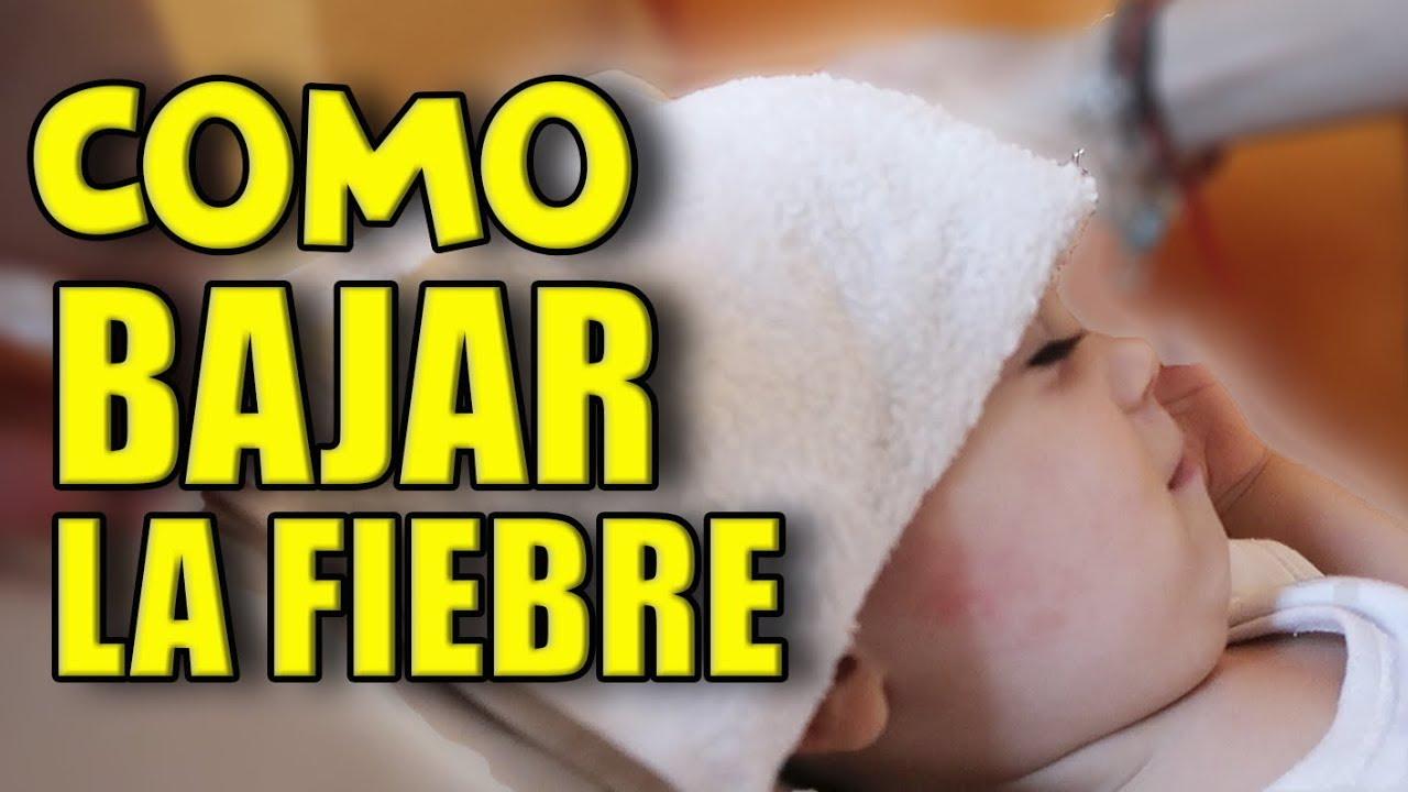 Como Bajar La Fiebre A Un Niño De Forma Natural Youtube
