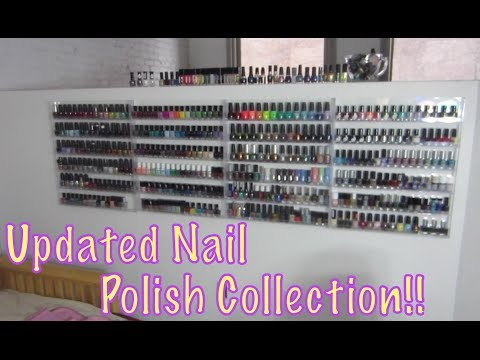 Updated Nail Polish Collection!!