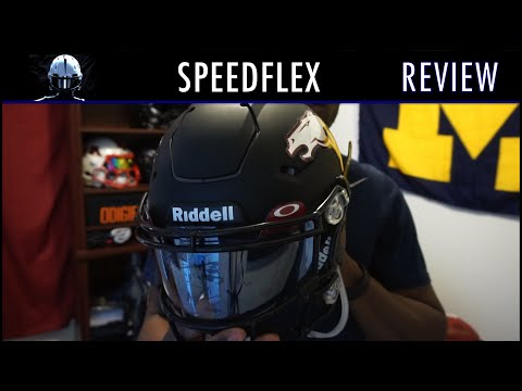 Riddell Speedflex Football Helmet Review - Ep. 245