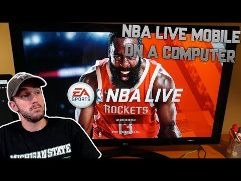 HOW TO PLAY NBA LIVE MOBILE ON YOUR COMPUTER!