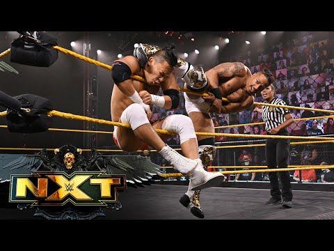 Kushida vs. Carmelo Hayes – NXT Cruiserweight Title Match: WWE NXT, June 1, 2021