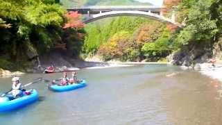 日高川・龍神清流カヌー Hidakagawa canoeing