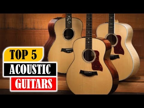 Top 5 Acoustic Guitars In 2018   5 Best Acoustic Guitars Review By Dotmart