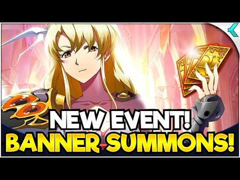 LANGRISSER M | New Event & Banner Summons!! CAN'T BELIEVE MY LUCK!