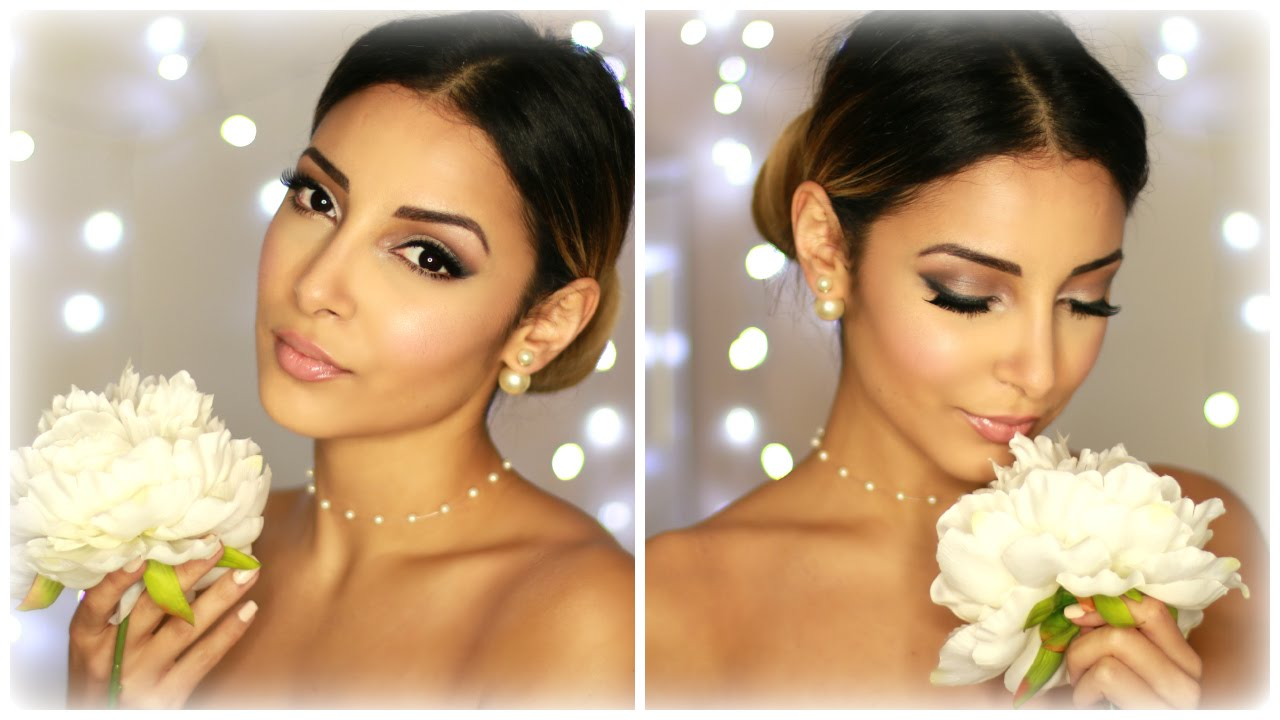 Extrem Bridal Wedding Make Up ❤ Maquillage de mariée - YouTube YA23