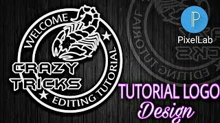 How to Make Logo on Android | How to Make Logo on pixellab