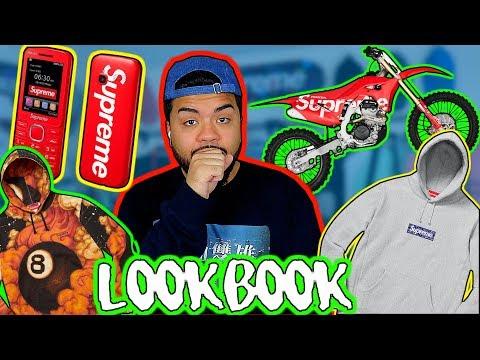 BEST BOX LOGO YET?! SUPREME FW19 LOOKBOOK REVIEW