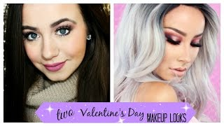 2 Valentine's Day Makeup Looks | Collab with Lisa Opie & Lady Code |