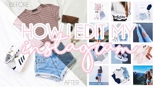 How I Edit My Instagram (Layouts/White Background) ♡ ELORABEE