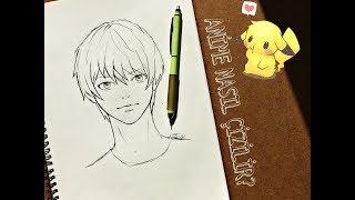 How to draw a anime/Anime nasıl çizilir?
