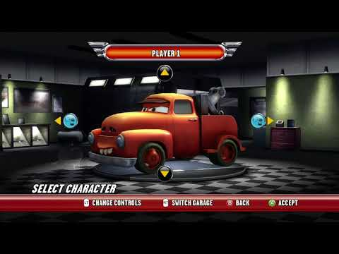 Cars: Race-O-Rama: All Characters And Paint-Jobs (Xbox360)