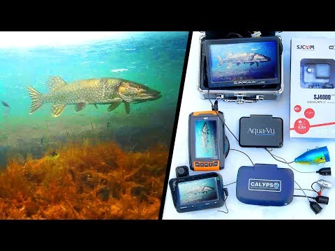 Дешевые против дорогих! Подводные камеры для рыбалки.