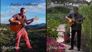 The South Wind - Teja Gerken & Doug Young Acoustic Guitar Duo