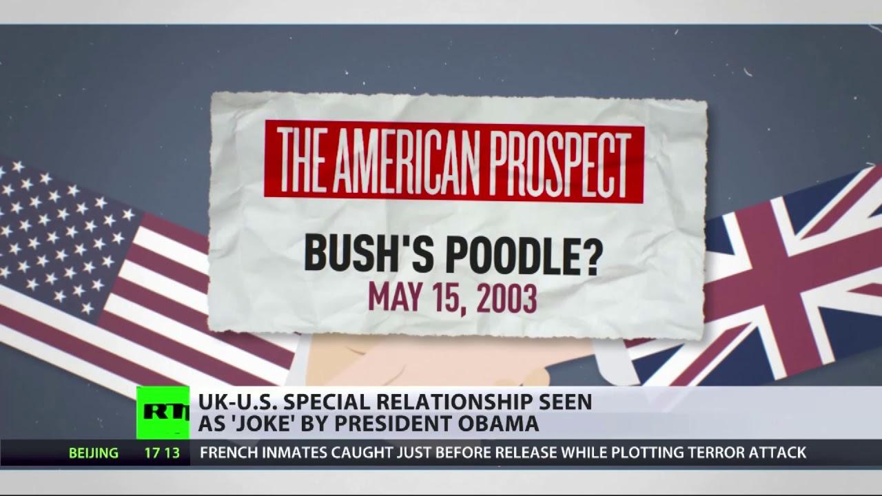 Obama saw US-<b>UK</b> special relationship as &#39;a <b>joke</b>&#39; - YouTube