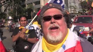 Con Juan Barreto desde La Plaza Venezuela, aporrea tvi, febrero 2014