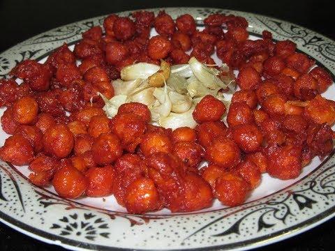 Dhaba Style Chana Fry  Starters