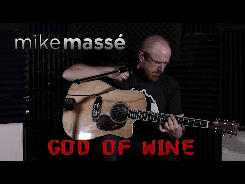 God of Wine (acoustic Third Eye Blind cover) - Mike Massé