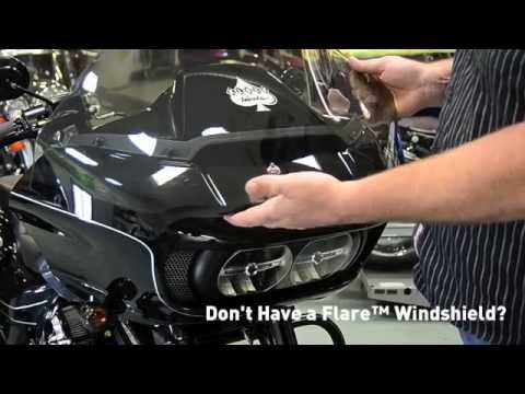 2015 Road Glide Klock Werks Vent Screen Install Video
