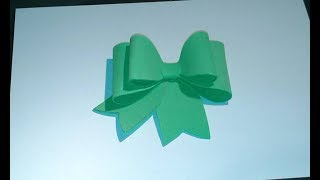 Fiocco in fommy rubber bow crepla