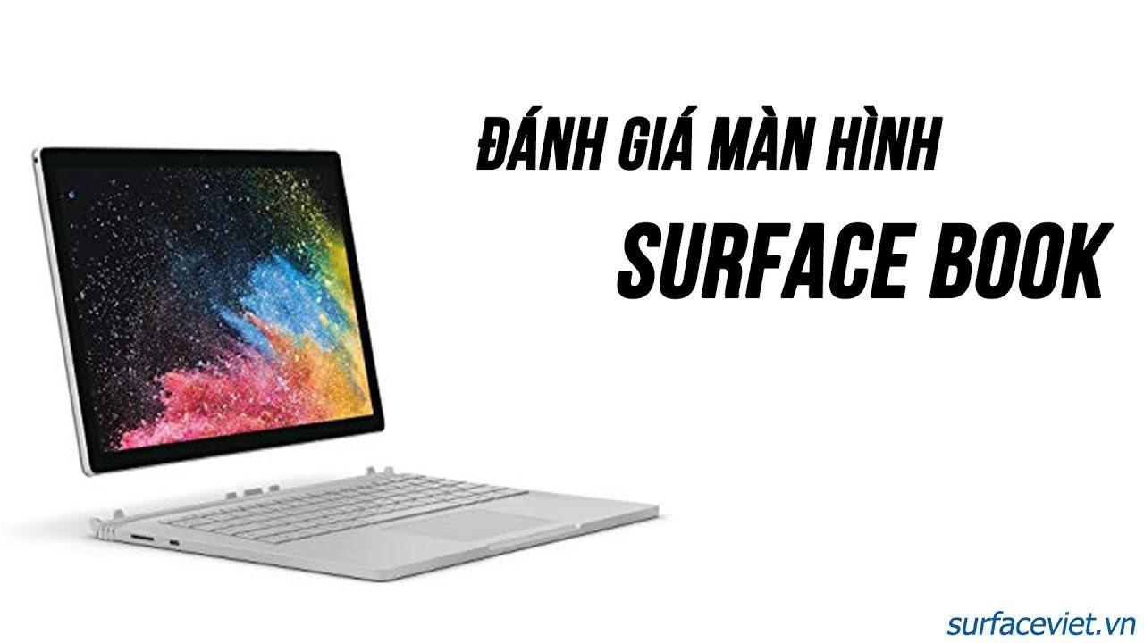 Surface Book máy tính có màn hình cảm ứng tốt nhất hiện nay