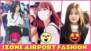 IZONE Airport fashion 2018-2019 [Miyawaki sakura airport fashion]