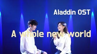 Aladdin OST A Whole New World - Peabo Bryson, Regina Belle (Cover by Jangstar&Heera)