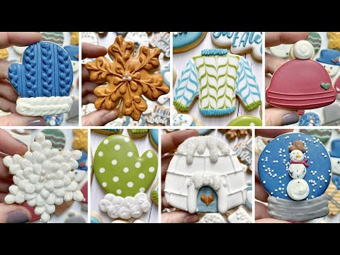 One LAST goodbye to winter! ~ Satisfying cookie decorating | The Graceful Baker
