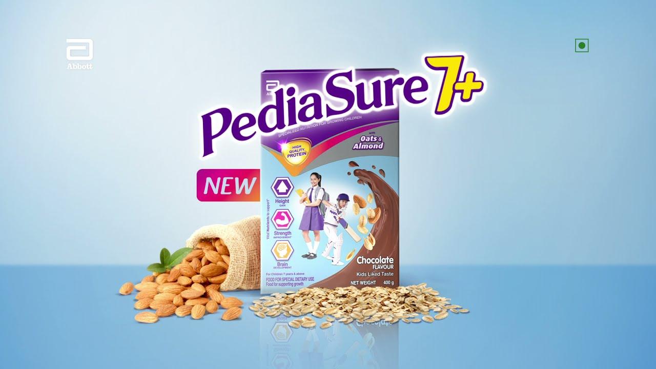 PediaSure 7+   Special Nutrition for 7-14 year kids   Hindi (5 Sec)