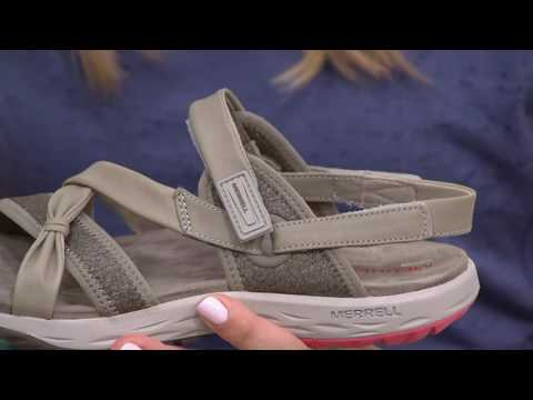 244d40b95366 Merrell Leather Sport Sandals - Vesper Lattice On Qvc - YT