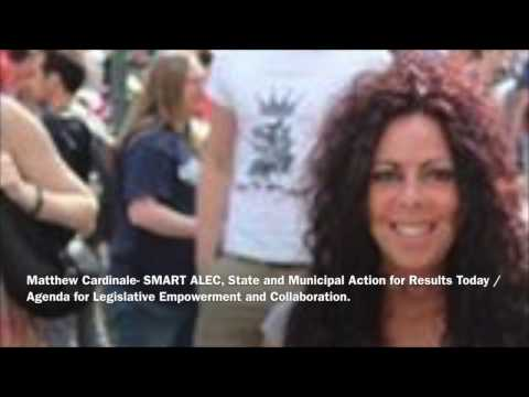Matthew Cardinale- SMART ALEC, The Alternative to Corporate Koch Brothers ALEC