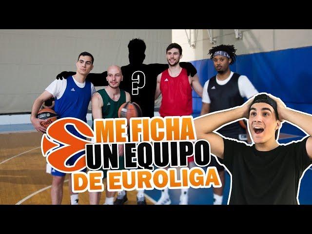 ME HA FICHADO UN EQUIPO DE LA EUROLIGA! - ''THE EUROGAME'' (EP. 1)