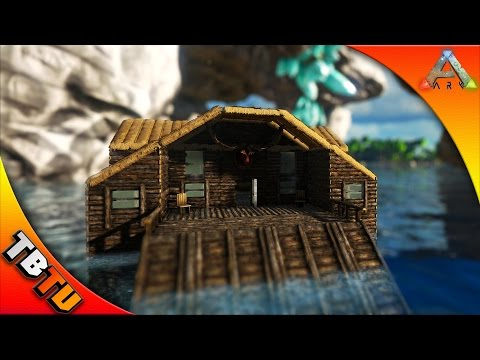 PREPARING FOR UNDERWATER BASES! - Ark Survival Base Building - Lake Cabin with a Secret!