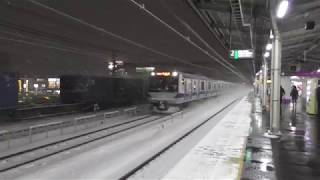JR常磐線金町駅JL21 快速勝田行きE531系0番台K460+K412編成通過