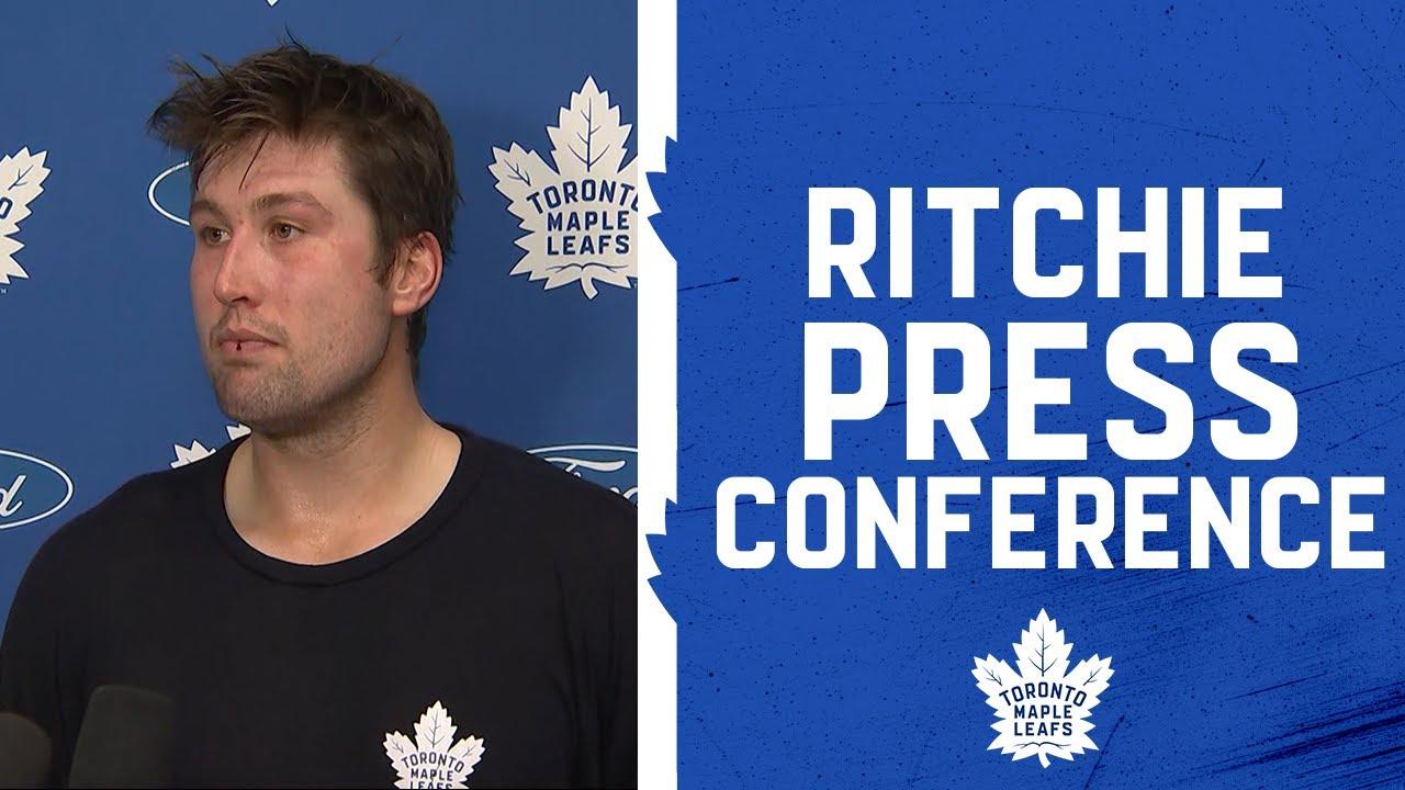 Nick Ritchie - Practice | October 19, 2021