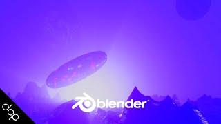 Blender 2.8 Tutorial - SciFi Space Ship and Landscape - Part 1