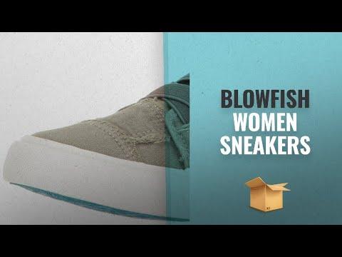Top 10 Blowfish Women Sneakers [2018 Best Sellers]: Blowfish Women's Marley Fashion Sneaker, Steel