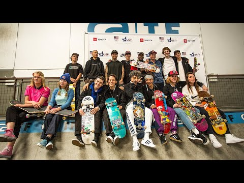 USA National Skateboarding Team Announcement And Skate Session