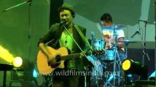 Alobo Naga and the Band set stage on fire, NagaFest