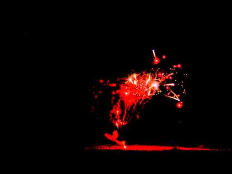 CAKEBOXENZSHAPE 100shots Z red glittering with palm pistil