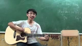 chiec la hy vong guitar cover - clb guitar dhsp HN