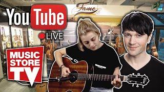 Music Store Live - Q&A Akustik-Gitarren mit Jule & Alex