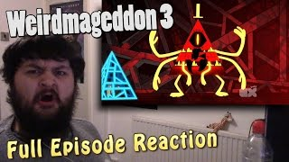 Gravity Falls - Weirdmageddon 3 - Season 2 Episode 20 - Finale [FULL EPISODE REACTION] - MrFreakins