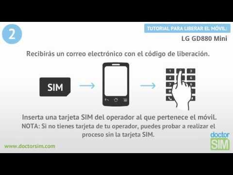 Liberar móvil LG GD880 mini | Desbloquear celular LG GD880 mini